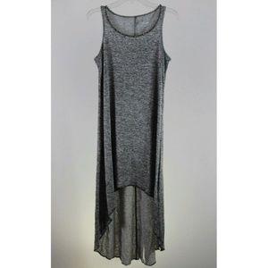 Juicy Couture Women's Dress Gray Asymmetrical Long
